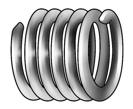Helical Insert, 304SS, 8-32, PK12 (Pack of 5) by Heli-Coil
