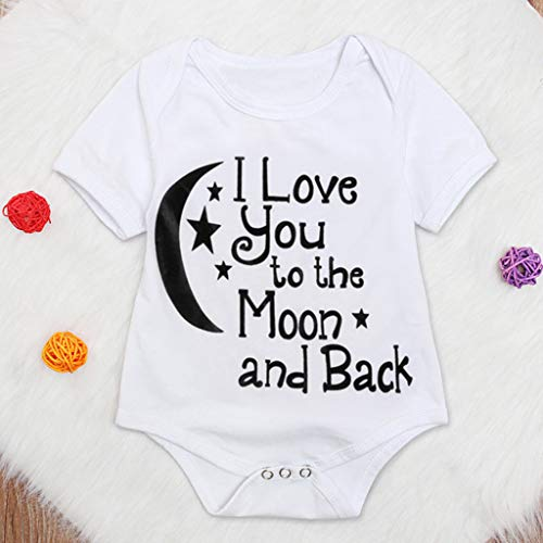 Toddler Kids Letter Print Tops Bodysuit - Romper Sunsuit Baby Girl Boy Clothes,2019 New by SUNSEE WOMEN'S CLOTHES PROMOTION (Image #1)