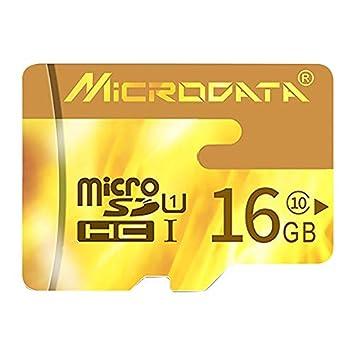 FENSHIX 16GB U1 Rojo TF Tarjeta de Memoria (SD Micro ...