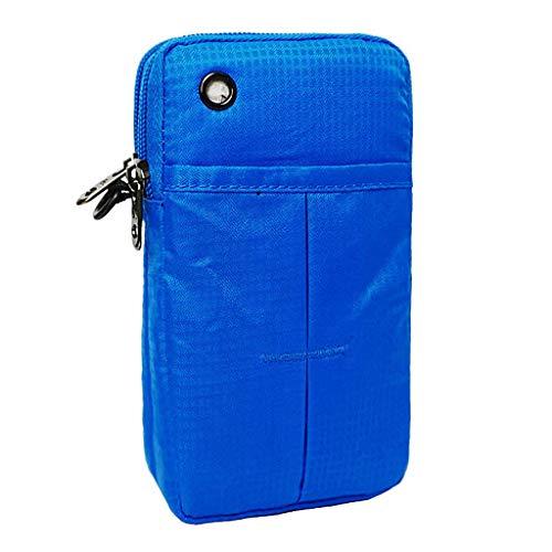 Bolso para Godcraft de mujer nailon hombro multicolor al Azul d1wXH