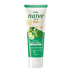 Kracie(Kanebo Home Products) Naive Facial Cleansing Foam Green Tea 110g/3.88oz. (japan import)