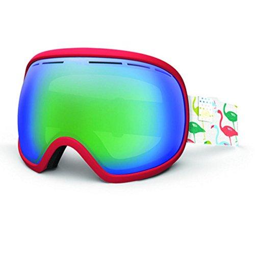 Vonzipper Fishbowl Goggles Coral Pink Quasar Chrome (Pink Goggles Chrome)