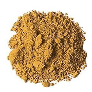 Yumi Bio Shop - French Yellow Clay 8.8oz - for fatigued and dehydrated skin. Helps with tissue repair and scar healing from Yumi Bio Shop