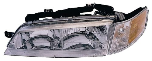 Depo 317-1106L-CSA Honda Accord Driver Side Replacement Headlight Assembly with Corner Light (94 Accord Headlights Driver Side compare prices)