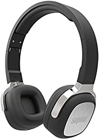Sephia SX16 Wireless Bluetooth Headphones, Foldable, On Ear, Stereo, Bass Driven Sound for iPhone, iPod, iPad, Samsung, Tablets etc Black