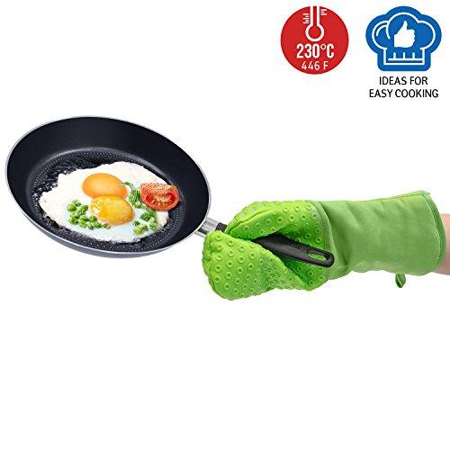 Wonder Worker Unburn Heat Resistant Mitt Silicone Glove Long Cuff for Arm Protection by Wonder Worker (Image #4)