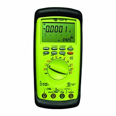 TPI 194 Auto-Ranging, True RMS Digital Multimeter with Triple Display, 1000V, 10 Amp, 50 Megaohms, 20 mF, 500 kHz
