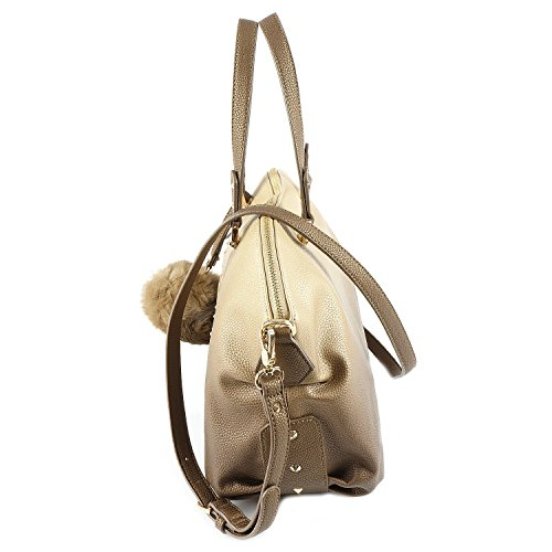 LIU o JO Tasche - Bauletto Logo Lucciola - Gold / Light Gold