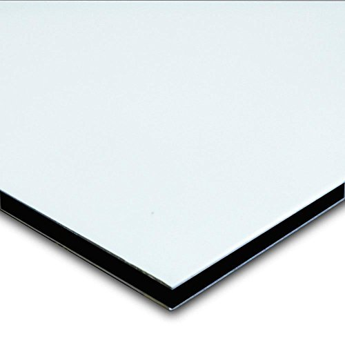 Aluminum Composite Sign Panel 1 8  X 24  X 36    Satin White