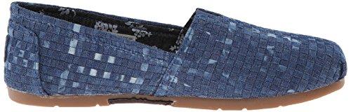 Skechers BOBS Von Frauen Luxe Fashion Slip-On Flat Denim