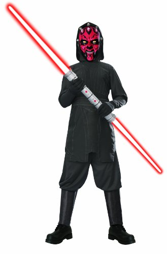 Star Wars Child's Darth Maul Costume, Medium (Darth Maul Star Wars Costume)