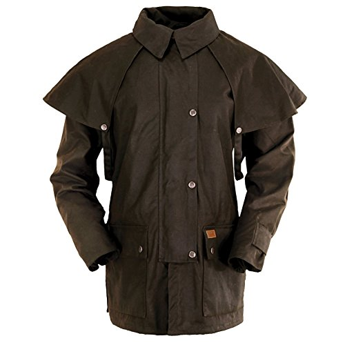 Outback Trading Company Bush Ranger Jacket, Brown, XL (The Trading Company)