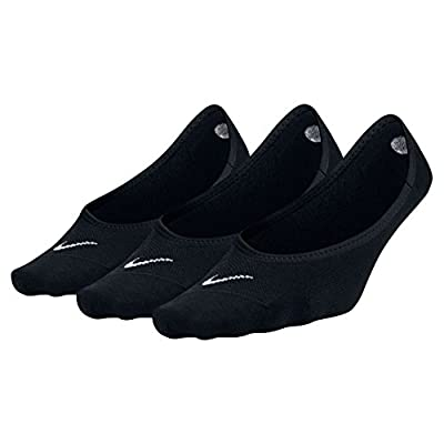 NIKE Women's Everyday Lightweight Footie Training Socks (3 Pair)