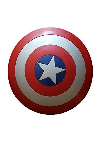 [Lifesize Handmade Captain America Shield] (Kickass Costume Cosplay)