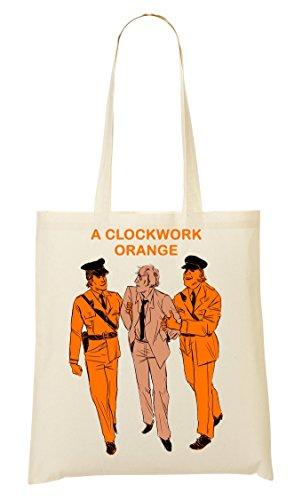 De Compra Orange Bolso Clockwork Bolsa La De Mano Police A 04Hwzw