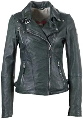Freaky Nation Biker Princess Chaqueta, Negro (Shadow 9015), Medium para Mujer