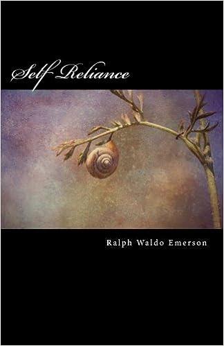 Amazon com: Self Reliance (9781545140857): Ralph Waldo Emerson: Books