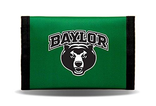 Rico Industries NCAA Baylor Bears Nylon Trifold Wallet