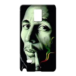 samsung note 4 Series Design Snap On Hard Cases Covers phone cover shell bob marley