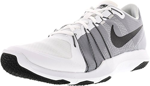 Nike Herren Flex Train Aver Cross Trainer Weiß / Schwarz / Wolfsgrau / Pure Platinum