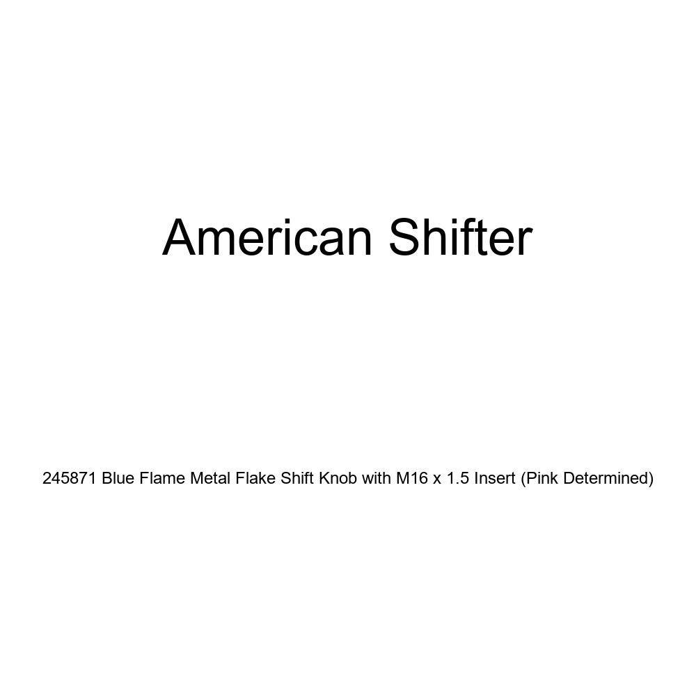 American Shifter 41163 Ivory Shift Knob with 16mm x 1.5 Insert Black Dolphin