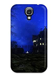 PjOMUvf138GfRtJ Tpu Phone Case With Fashionable Look For Galaxy S4 - Attractive Halloween Night