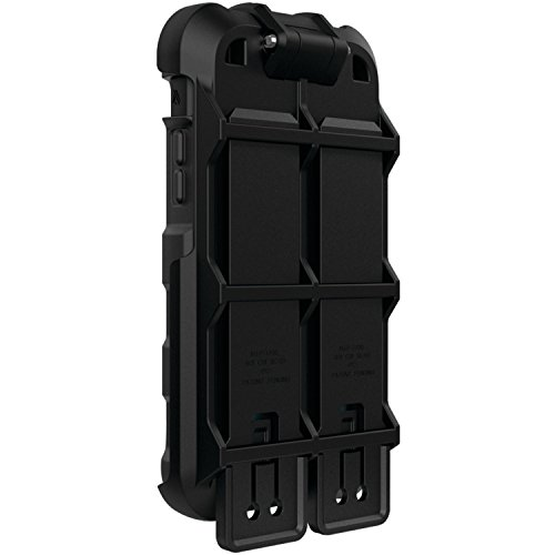 Pivoting Panel (Ballistic, Molle Accessory [Hardcore Tactical] Molle Attachment for iPhone 6 / 6s Tactical Case, Ultra Rugged Mount Holster Cell Phone Case for iPhone 6 / 6s Hardcore Tactical  - Black)
