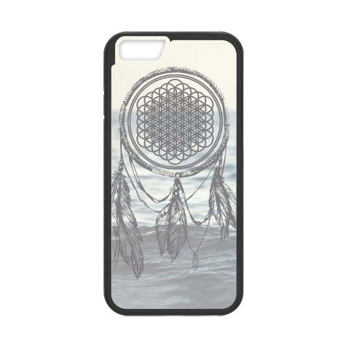 Fayruz- Personalized Protective Hard Textured Rubber Coated Cell Phone Case Cover Compatible with iPhone 6 & iPhone 6S - Bring Me The Horizon F-i5G673