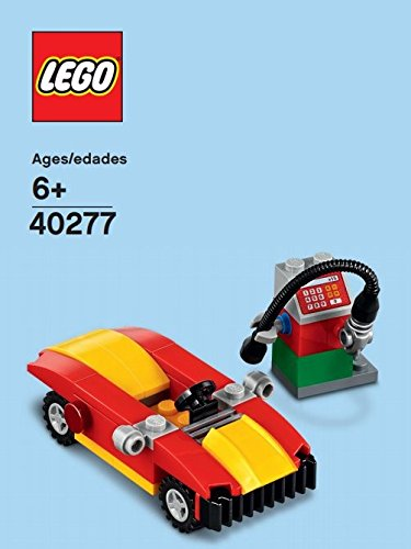 LEGO Monthly Mini Build Poly Bag February 2018 - Car and Petrol Gas Pump (40277)