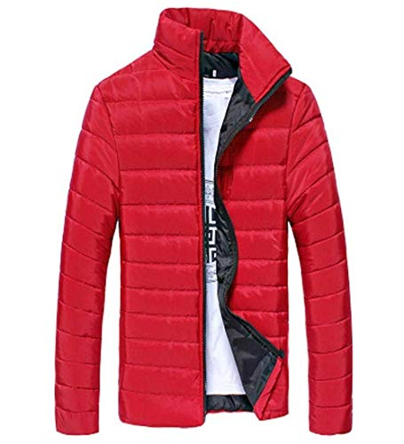 Coat Jacket fashion Outdoor Long Lightweight Down Rot Thick Laisla Parka Jacket Slim Stand Fit Collar Clásico Winter Packable Jacket Jacket Coat Men Warm Sleeve Quilted Boy Down OPvvwXdq