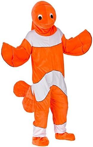 Encontrando Nemo estilo pez payaso traje adulto: Amazon.es ...