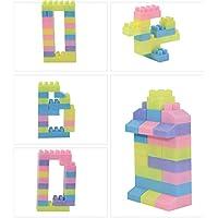 SYGA 182 Pcs Toy Building Bricks Educational Game Blocks Kit for 3+ Childern (Transparent Bag)