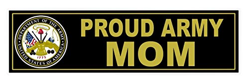 ue U.S. Proud Army Mom United States of America Department 1775 Sticker Sign Military Indoor Bumper Window Graphics Racing Car Stickers Decor Cars Vinyl Trucks Decal Size 11