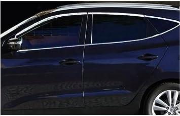 Accesorios para Chevrolet Cruze cromo Tuning Ventana listones umrandung: Amazon.es: Coche y moto