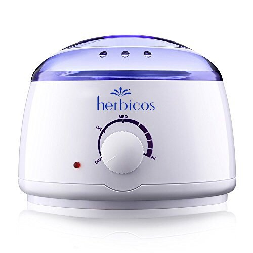 Huini Herbicos Wax Warmer Hot Wax Heater Salon Spa Manicure Pedicure Paraffin Warmer Hard Strip Waxing(fits 14oz) CD-RH008