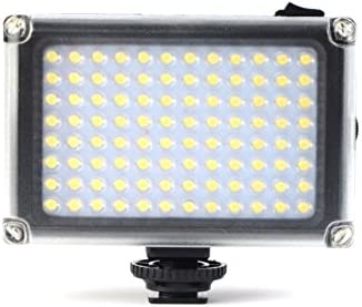 96 LED Video Light Photo Lighting on Camera Hot Shoe Dimmable Lamp for Canon Nikon Sony Camcorder DSLR Mirrorless Fujifilm Olympus Youtube