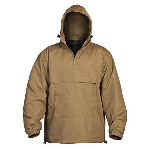 Miltec Mil-Tec Combat Summer Anorak Weather Jacket - Coyote Tan, Small