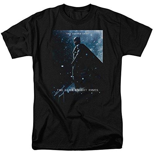 Trevco Men's Dark Knight Rises Batman Poster Short Sleeve Adult T-Shirt at Gotham City Store
