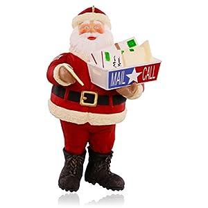 Hallmark Keepsake Ornament: Santa's Military Mail Call