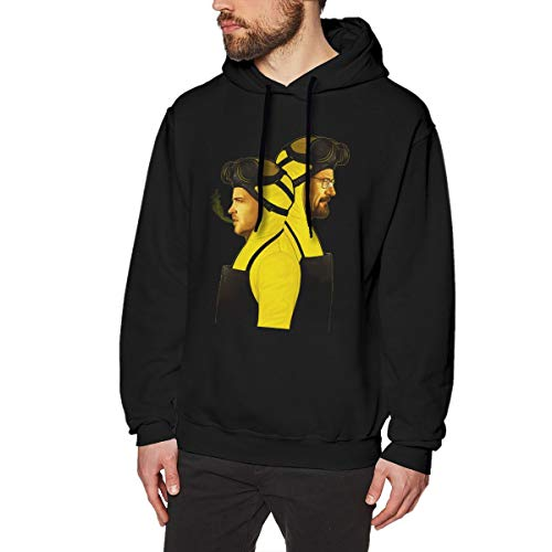 Walter White And Jesse Pinkman Halloween (ShannonStone Adult Men's Walter-White and Jesse-Pinkman Classical Pocketless Sweater for)