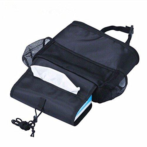 Portable Seat Cooler ((1 Pack) Travel Outdoor Portable Car Seat Back cooler multipurpose storage Pocket Backseat Organizer Bag.)