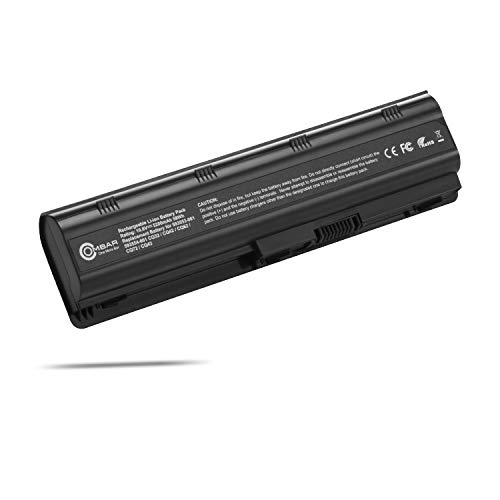- OMBAR New Laptop Battery Replacement for HP 593553-001 593554-001 mu06 mu09 - Battery Presario CQ32 CQ42 CQ43 CQ56 CQ62 CQ72 COMPAQ 435, 436 Notebook PC - Outer Jacket May Vary (Black)