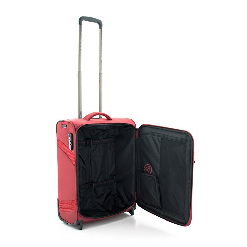 Roncato Trolley Laptop Rollkoffer, 39 liters, Rot (Rosso)