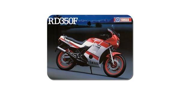 Vintage RD350 F YPVS anuncio alfombrilla para ratón motorista alfombrilla para ratón para bicicleta de regalo: Amazon.es: Hogar