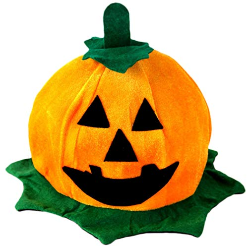 Outgeek Party Cosplay Jack-O-Lantern Hat Halloween Costume Accessory