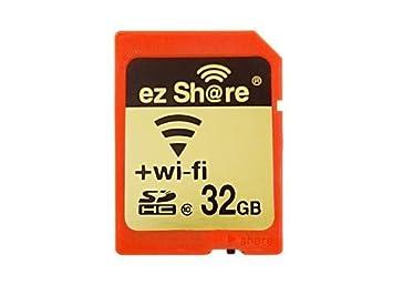 WiFi SD tarjeta de memoria de 32 GB clase 10 2 nd generación ...