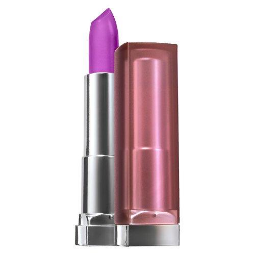 Maybelline ColorSensational Creamy Mattes Lip Color, Vibrant Violet 0.15 oz