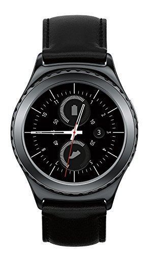 Samsung Gear S2 Classic Smartwatch w/ Rotating Bezel and Leather Strap - Black by Samsung (Image #2)