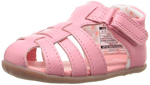 Picture of Carter's Every Step Stage 2 Girl's and Boy's Standing Shoe, Addison, Pink, 4.5 M US Toddler