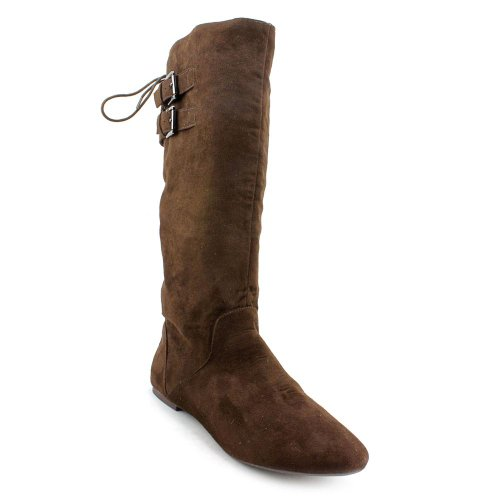 Boot Girl Material Fiber Micro Women's Brown Bonita Bq7W1C0fw